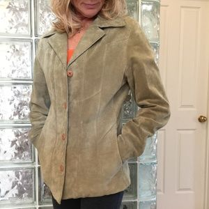 Wilsons Leather MAXIMA Leather Suede Jacket